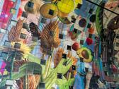 Interior of the Markthal in Rotterdam, Netherlands Stock Photos