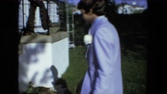 1974: white couple is walking to the house FORT WAYNE, INDIANA Stock Footage