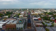 4k Aerial of Charleston South Carolina at Sunrise Stock Footage