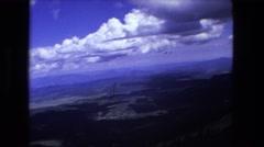 1974: vast mountain area is seen FORT WAYNE, INDIANA Stock Footage