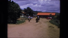 1974: horse is seen with rider FORT WAYNE, INDIANA Stock Footage