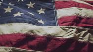 USA flag background footage Stock Footage