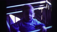 1973: toddlers is seen LYNBROOK, NEW YORK Stock Footage