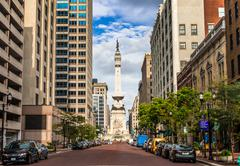 Indianapolis, Indiana, USA- August , 2016. View of The Indiana Sailors' and S Kuvituskuvat
