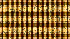Gold glittering reflectors seamless looping background Stock Footage