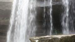 Thung Na Muang Waterfall in Ubon Ratchathani at Thailand Stock Footage