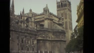 1978: tourist area is seen FRANCE Stock Footage