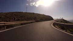 Driving in Gran Canaria Stock Footage