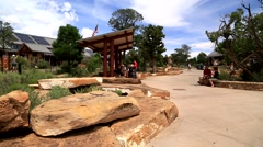 Visitor Center at the Grand Canyon Stock Footage