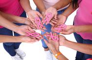 The concept of health and the prevention breast cancer. Stock Photos