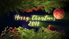 Magical christmas slideshow Stock After Effects