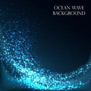 Ocean Wave Background Piirros