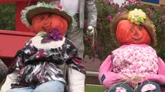 Halloween haunted scene Stock Footage