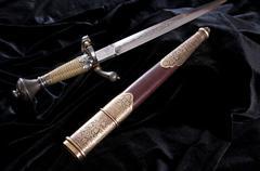 Smart dagger Stock Photos