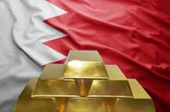 Bahrain gold reserves Stock Photos
