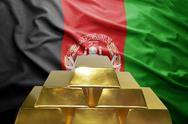 Afghanistan gold reserves Stock Photos