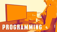 Programming Concept Course Stock Illustration
