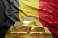 Belgian gold reserves Stock Photos