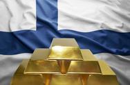 Finnish gold reserves Stock Photos