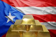 Puerto rico gold reserves Stock Photos