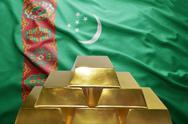Turkmenistan gold reserves Stock Photos
