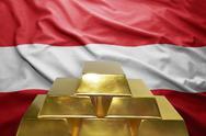 Austrian gold reserves Stock Photos