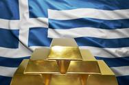 Greek gold reserves Stock Photos