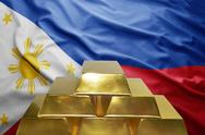 Philippines gold reserves Stock Photos