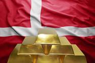 Danish gold reserves Stock Photos