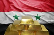 Syrian gold reserves Stock Photos