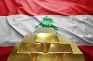 Lebanese gold reserves Stock Photos