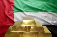 United arab emirates gold reserves Stock Photos
