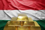 Hungarian gold reserves Stock Photos