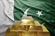 Pakistani gold reserves Stock Photos