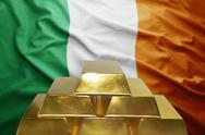 Irish gold reserves Stock Photos