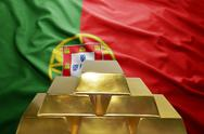 Portuguese gold reserves Stock Photos