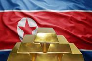 North korea gold reserves Stock Photos