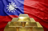 Taiwan gold reserves Stock Photos
