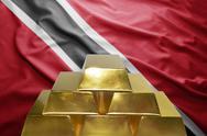 Trinidad and tobago gold reserves Stock Photos