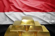 Yemeni gold reserves Stock Photos
