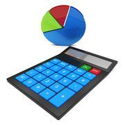 Calculate Statistics Representing Chart Computes And Calculates Stock Illustration