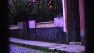 1967: garden is seen BRAZIL Stock Footage