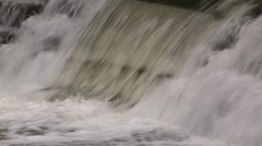 Salmon jumping and spawning Stock Footage