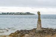 Sculpture at the Gulf of Morbihan Stock Photos