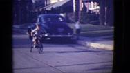 1946: car is seen DETROIT, MICHIGAN Stock Footage