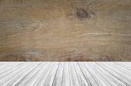 Wood terrace and Wood texture Stock Photos
