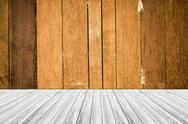 Wood terrace and Wood texture vintage style Stock Photos