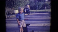 1946: toddlers is seen crawling DETROIT, MICHIGAN Stock Footage
