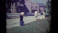 1946: garden is seen DETROIT, MICHIGAN Stock Footage