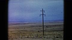 1960: desert area is seen TEXAS Stock Footage